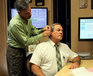 fitting hearing aid